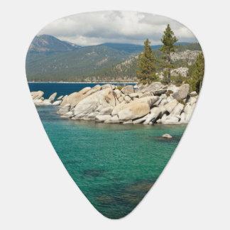 Lake Tahoe Landscape Guitar Pick