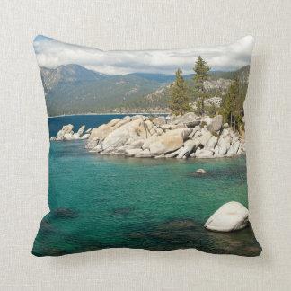 Lake Tahoe Landscape Throw Pillow