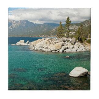 Lake Tahoe Landscape Ceramic Tile