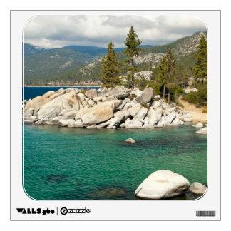 Lake Tahoe Landscape Wall Decal