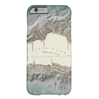 Lake Tahoe map Barely There iPhone 6 Case