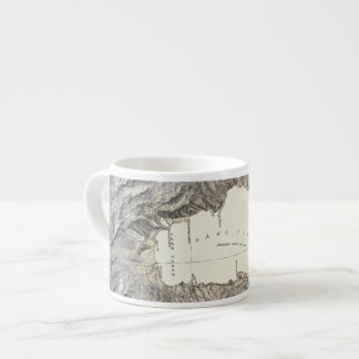 Lake Tahoe map Espresso Cup