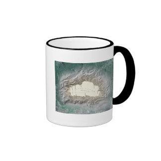 Lake Tahoe map Coffee Mug