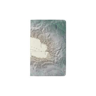 Lake Tahoe map Pocket Moleskine Notebook