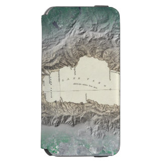 Lake Tahoe map Incipio Watson™ iPhone 6 Wallet Case