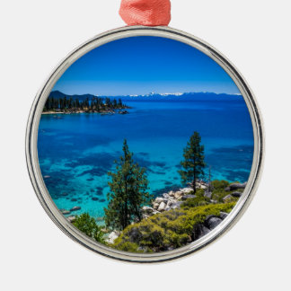 Lake Tahoe Metal Ornament