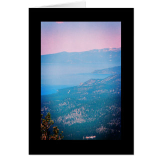 Lake Tahoe Mist- Song of Sol. 8:7 Greeting Card
