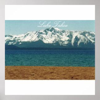 Lake Tahoe Nevada Beach Poster