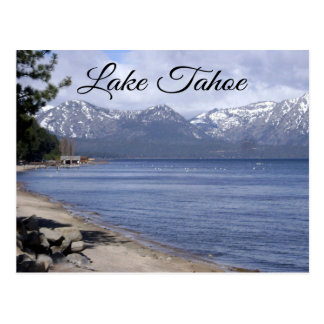 Lake Tahoe Nevada, California Travel Post Card
