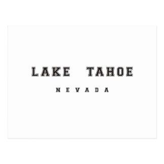 Lake Tahoe Nevada Postcard