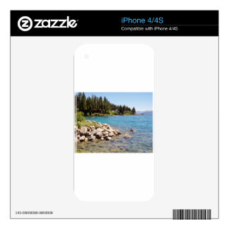 Lake Tahoe Nevada Skins For The iPhone 4S