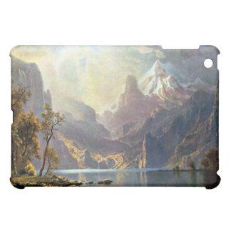 Lake Tahoe painting Nevada art by Albert Bierstadt iPad Mini Case