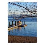 Lake Tahoe Pier II Greeting Card