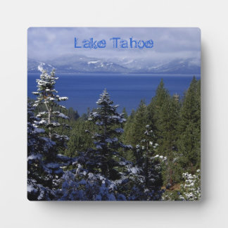 Lake Tahoe Plaque