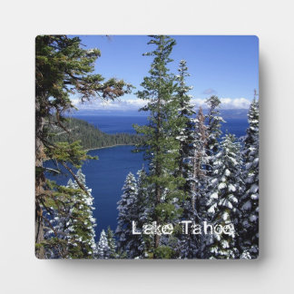 Lake Tahoe Plaque with Easel