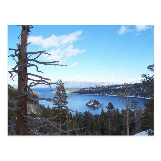 Lake Tahoe Post Card