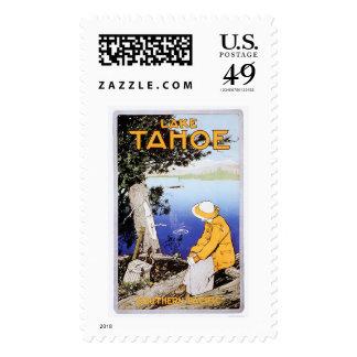 Lake Tahoe Postage Stamp