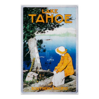 Lake Tahoe Promotional PosterLake Tahoe, CA Posters