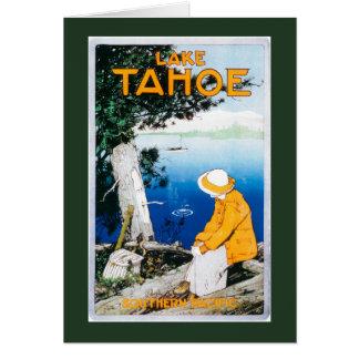 Lake Tahoe Promotional PosterLake Tahoe, CA Card