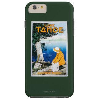 Lake Tahoe Promotional PosterLake Tahoe, CA Tough iPhone 6 Plus Case