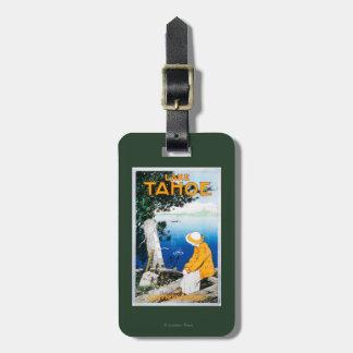 Lake Tahoe Promotional PosterLake Tahoe, CA Bag Tags