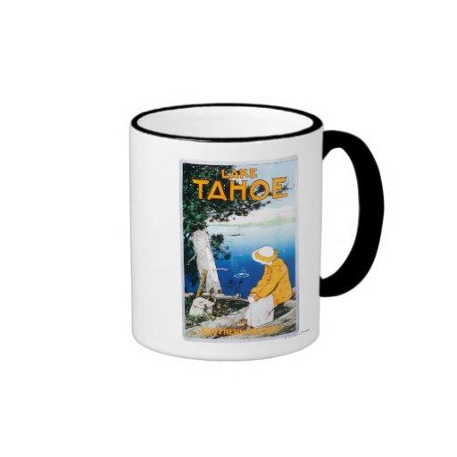 Lake Tahoe Promotional PosterLake Tahoe, CA Coffee Mug