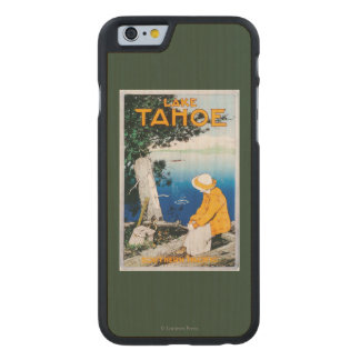 Lake Tahoe Promotional PosterLake Tahoe, CA Carved® Maple iPhone 6 Case