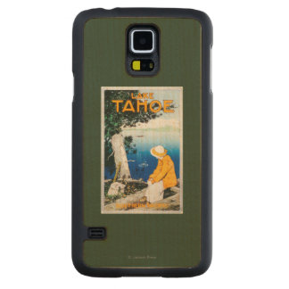 Lake Tahoe Promotional PosterLake Tahoe, CA Carved® Maple Galaxy S5 Case