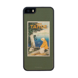 Lake Tahoe Promotional PosterLake Tahoe, CA Carved® Maple iPhone 5 Case