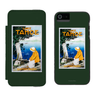 Lake Tahoe Promotional PosterLake Tahoe, CA Incipio Watson™ iPhone 5 Wallet Case