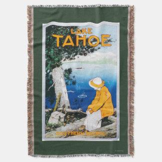 Lake Tahoe Promotional PosterLake Tahoe, CA Throw