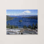 """Lake Tahoe - Puzzle<br><div class=""""desc"""">Lake Tahoe lovers,  work this puzzle. Then mount it on a wall.</div>"""
