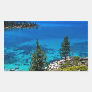 Lake Tahoe Rectangular Sticker