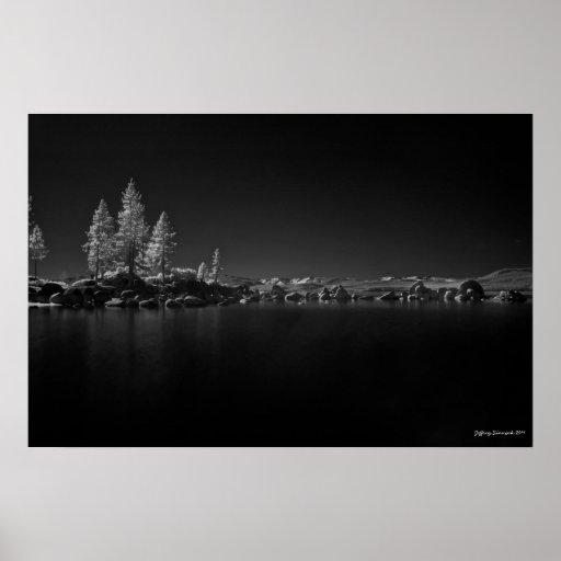 Lake Tahoe,Sand cove Poster