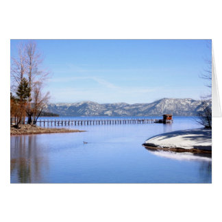Lake Tahoe Scenery Card