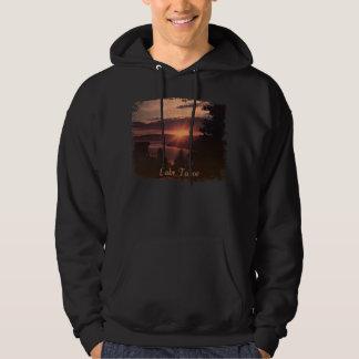 Lake Tahoe Sunrise Hooded Sweatshirt