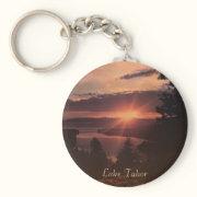 Lake Tahoe Sunrise Keychain