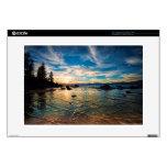 """Lake Tahoe Sunset 15"""" Laptop Decal"""