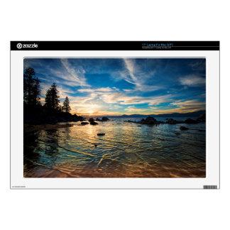 """Lake Tahoe Sunset 17"""" Laptop Skin"""