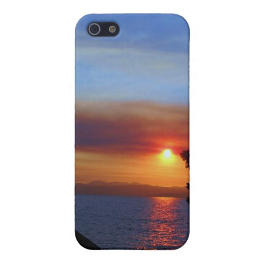 Lake Tahoe Sunset Cover For iPhone SE/5/5s