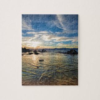 Lake Tahoe Sunset Jigsaw Puzzle