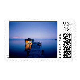 Lake Tahoe Sunset Postage Stamp
