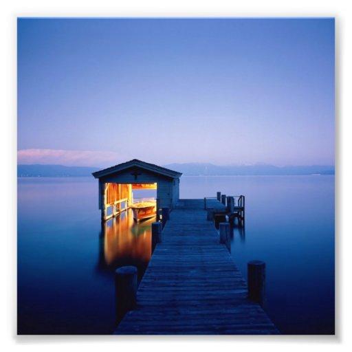 Lake Tahoe Sunset Print Photo Print
