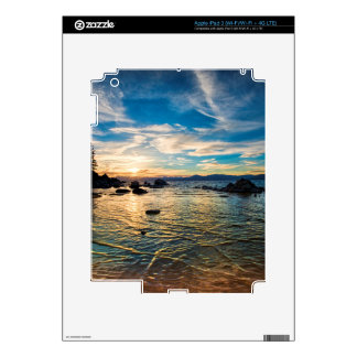 Lake Tahoe Sunset Skin For iPad 3