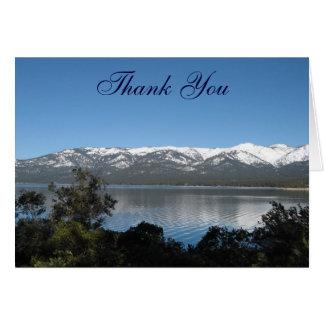 Lake Tahoe Thank You Card
