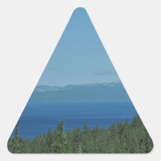 Lake Tahoe Triangle Sticker