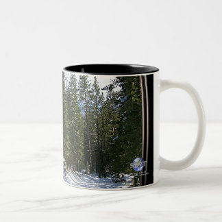 LAKE TAHOE Two-Tone COFFEE MUG