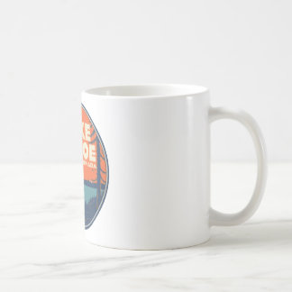 Lake Tahoe Vintage Travel Decal Design Coffee Mug