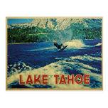 Lake Tahoe Water Skier Post Cards