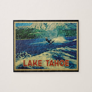 Lake Tahoe Water Skier Puzzle